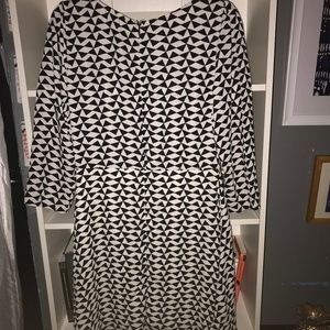 Everly Black and White Dress!